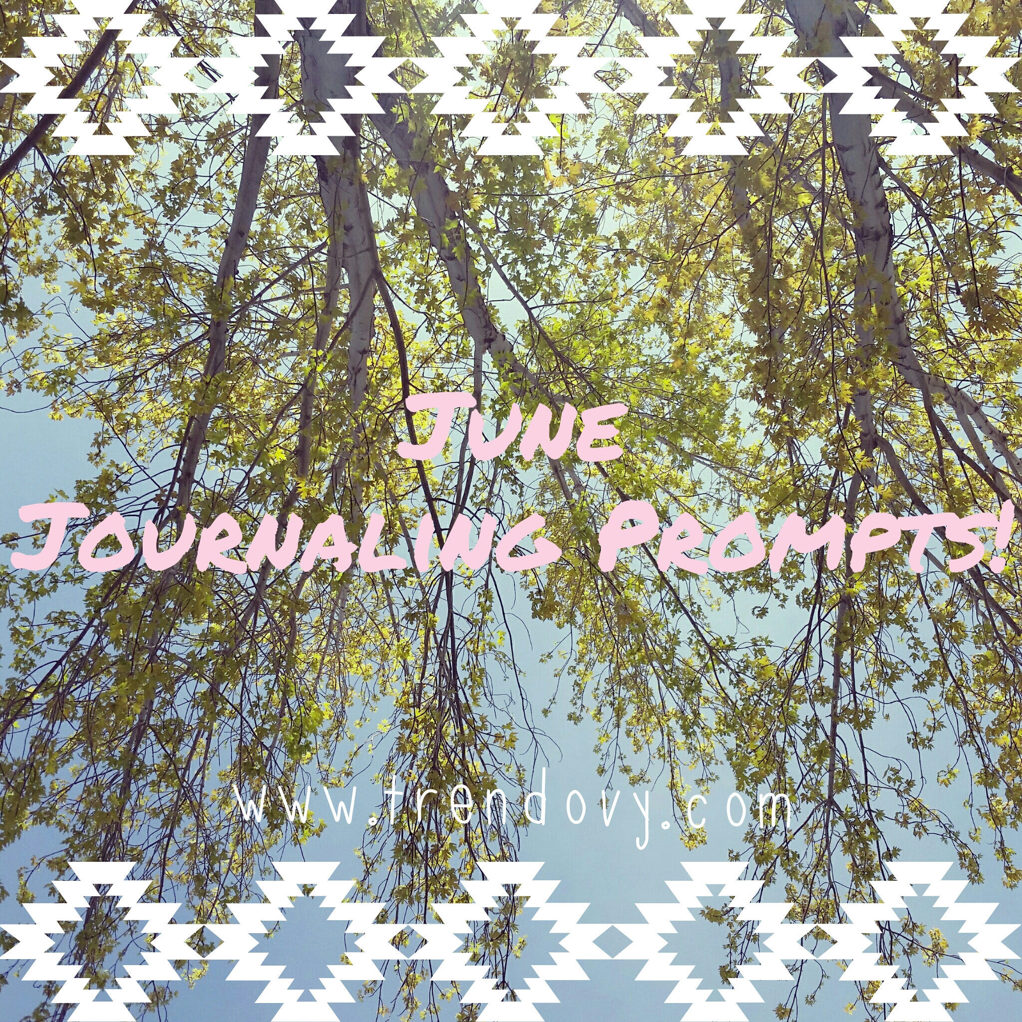 June Journaling Prompts